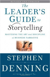 Leaders Guide to Storytelling Book Cover