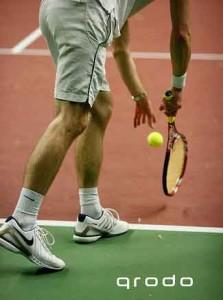 No Moss Brands Tennis Serve Photo