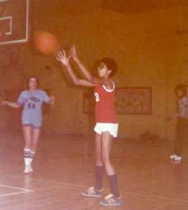Karen Loomis Early Years Basketball Photo