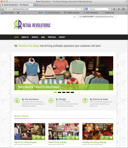 Retail Revolutions Website