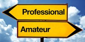 Pro v Amateur