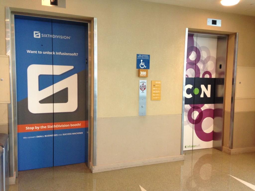 ICON 15 Elevator Branding Photo