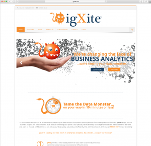 Customer Website igXite